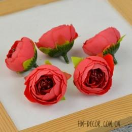 Головка ранункулюса Есения красная 4 см