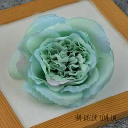 Головка розы Мери ментоловая 12 см