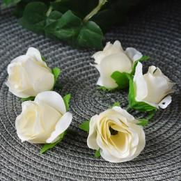 Головка розы Клео айвори 4 см 1 шт.