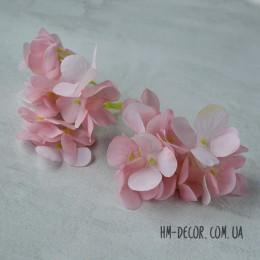 Гортензия New нежно-розовая веточка 8 см