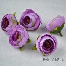 Головка ранункулюса Есения лиловая 4 см