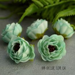 Головка розы Александра ментоловая 4 см 1 шт.