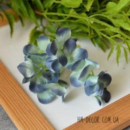 Гортензия New сине-голубая веточка 8 см