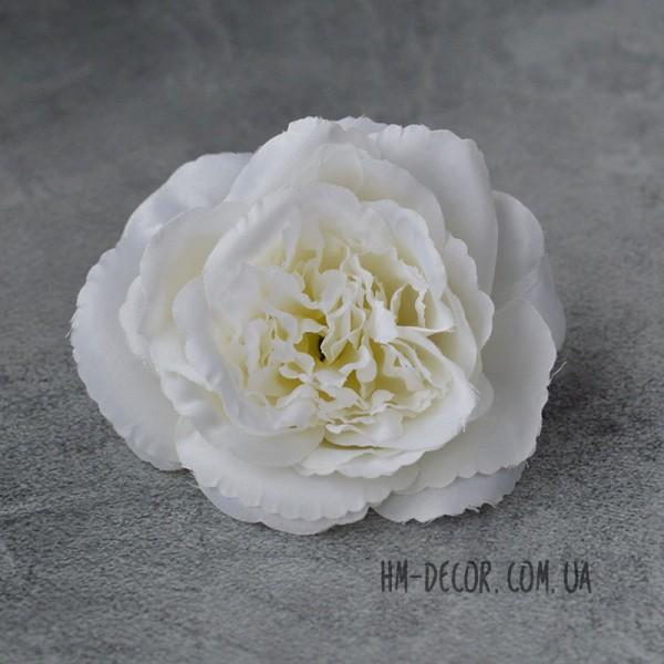 Головка розы Мери белая 12 см
