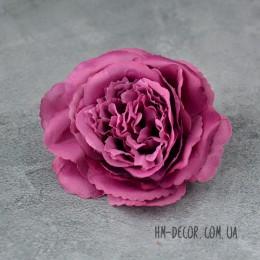 Головка розы Мери сиреневая 12 см