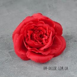 Головка розы Мери красная 12 см