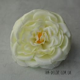 Головка английской розы макси айвори 13 см