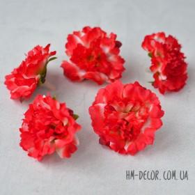 Головка махровой петунии 5 см ярко-красная