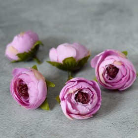 Головка ранункулюса Есения розово-сиреневая 4 см