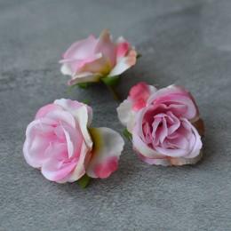Головка розы Дрим нежно-розовая 5 см 1 шт.