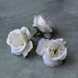 Головка розы Дрим молочная 5 см 1 шт.