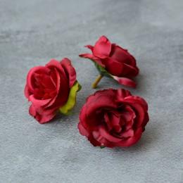 Головка розы Дрим красная 5 см 1 шт.