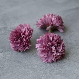 Головка хризантемы дымчато-сиреневая 5 см 1 шт.