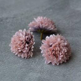 Головка хризантемы бежевая 5 см 1 шт.
