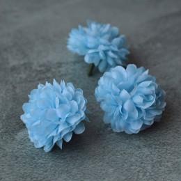 Головка георгина голубая 5 см 1 шт.