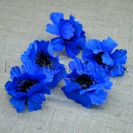 Головка василька синяя 6 см