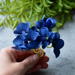 Гортензия New синяя веточка 8 см