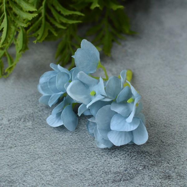 Гортензия New голубая веточка 8 см
