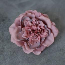 Головка камелии розовая пудра 10 см