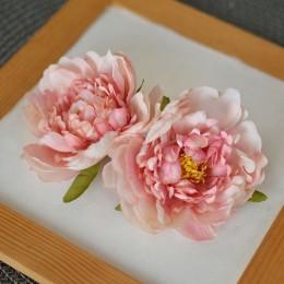Головка пиона Лиам розовая пудра  8 см 1 шт.