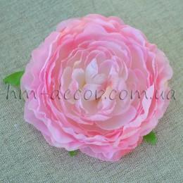 Головка камелии розовая 8 см