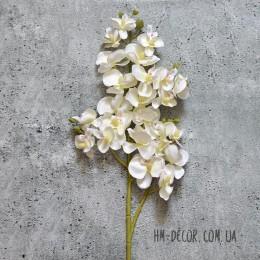 Орхидея фаленопсис мелкая белая 70 см