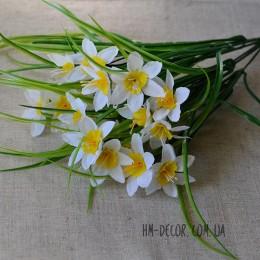 Нарцисс белый куст 21 гол. 35 см
