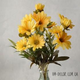 Хризантема осенняя желтая 30 см