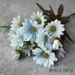 Хризантема осенняя голубая 30 см