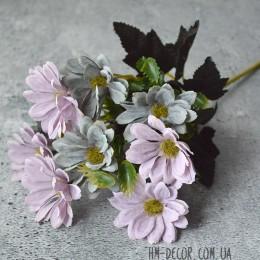 Хризантема сиренево-голубая 30 см