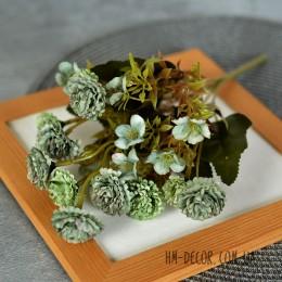 Хризантема мелкая мятная 30 см