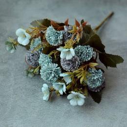 Хризантема мелкая голубая 30 см