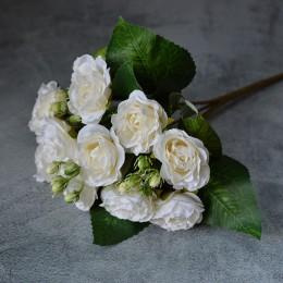 Букет роз Пасадена айвори 25 см