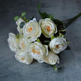 Букет роз Зара айвори 30 см