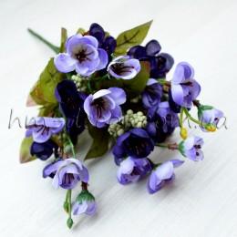 Букет сакуры фиолетовый 25 см