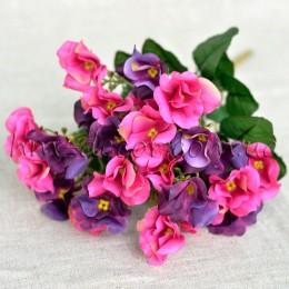 Букет годеции розово-фиолетовый 35 см