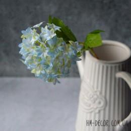 Бульдонеж нежно-голубой мини 30 см