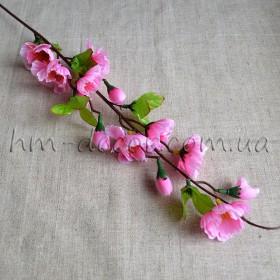 Яблоневый цвет розовый 60 см