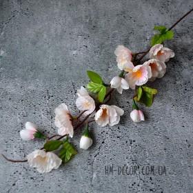 Яблоневый цвет бело-розовый 60 см