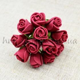 Роза латексная вишневая 12 шт.