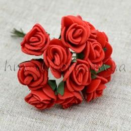 Роза латексная красная 12 шт.