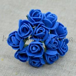 Роза латексная синяя 12 шт.
