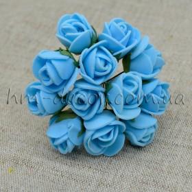 Роза латексная голубая 12 шт.