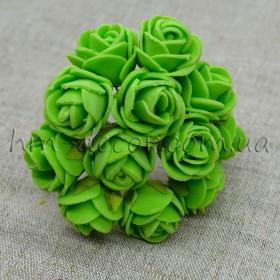 Роза латексная светло-зеленая 12 шт.