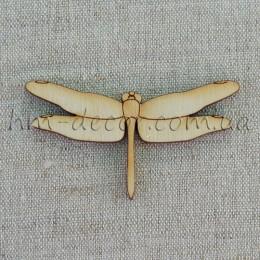 Стрекоза деревянная (2) 41*73 мм