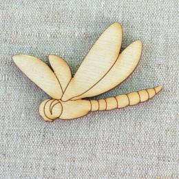 Стрекоза деревянная (3) 41*57 мм
