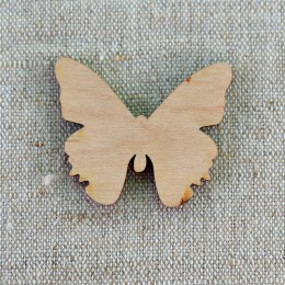 Заготовка - бабочка деревянная (1) 34*46 мм