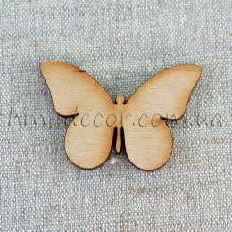 Заготовка - бабочка деревянная (2) 34*46 мм