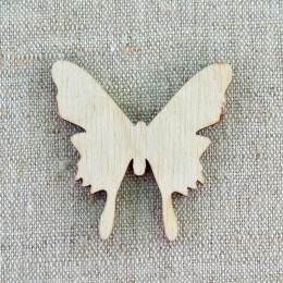 Заготовка - бабочка деревянная (3) 34*46 мм