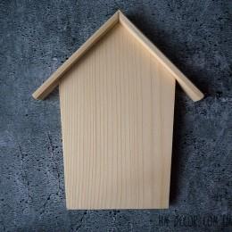 Ключница деревянная домик 17*22 см